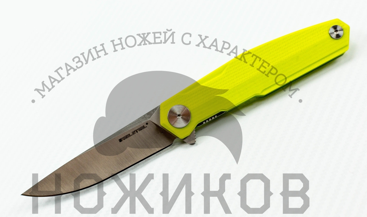 Нож G3 Puukko Light, green от Realsteel