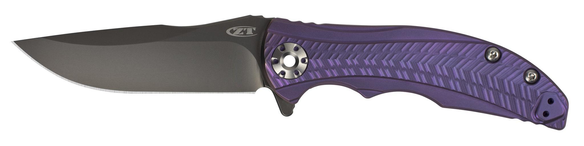 Купить Складной нож Zero Tolerance K0609PU, сталь CPM-20CV, покрытие Black DLC, рукоять титан в России