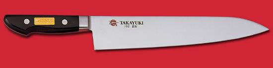 Нож шефа Sakai Takayuki USS, сталь CrV (хромо-ванадиевая), рукоять дерево фото