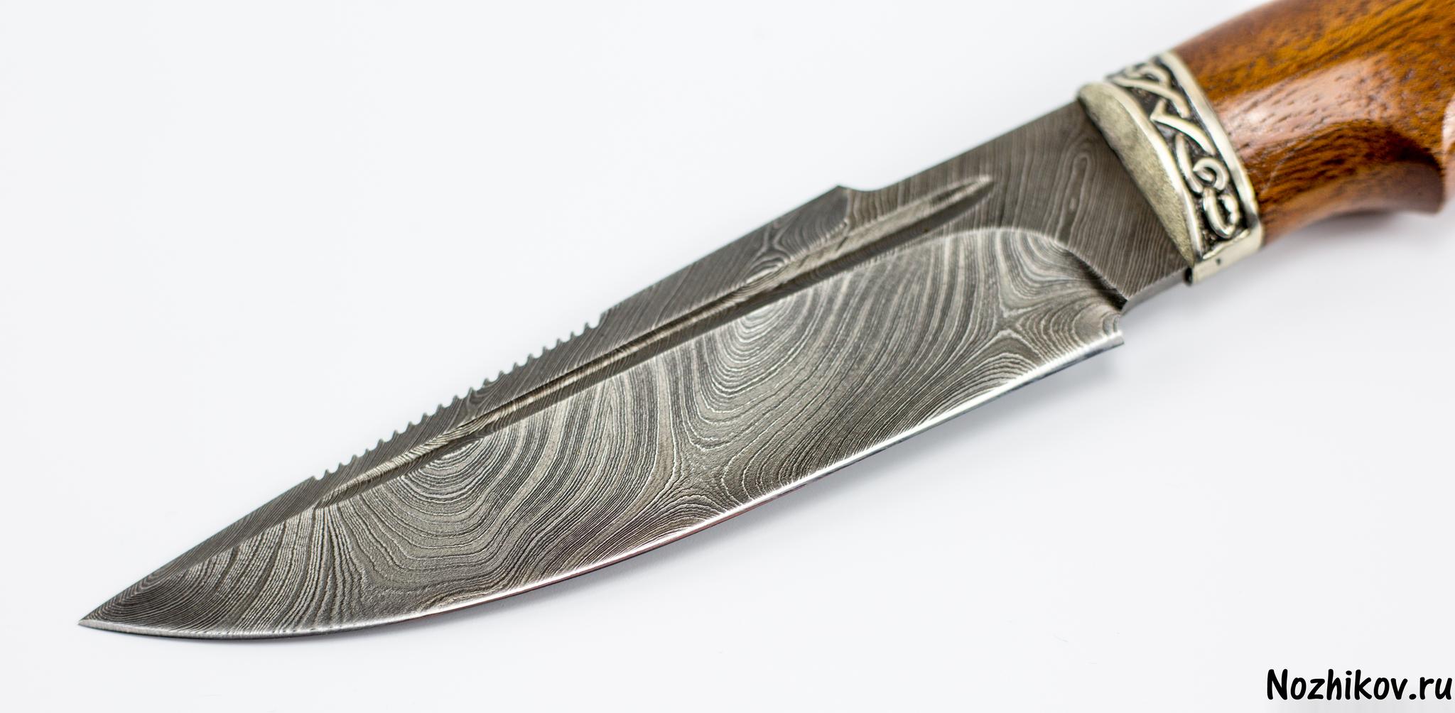 Фото 20 - Авторский Нож из Дамаска №8, Кизляр от Noname