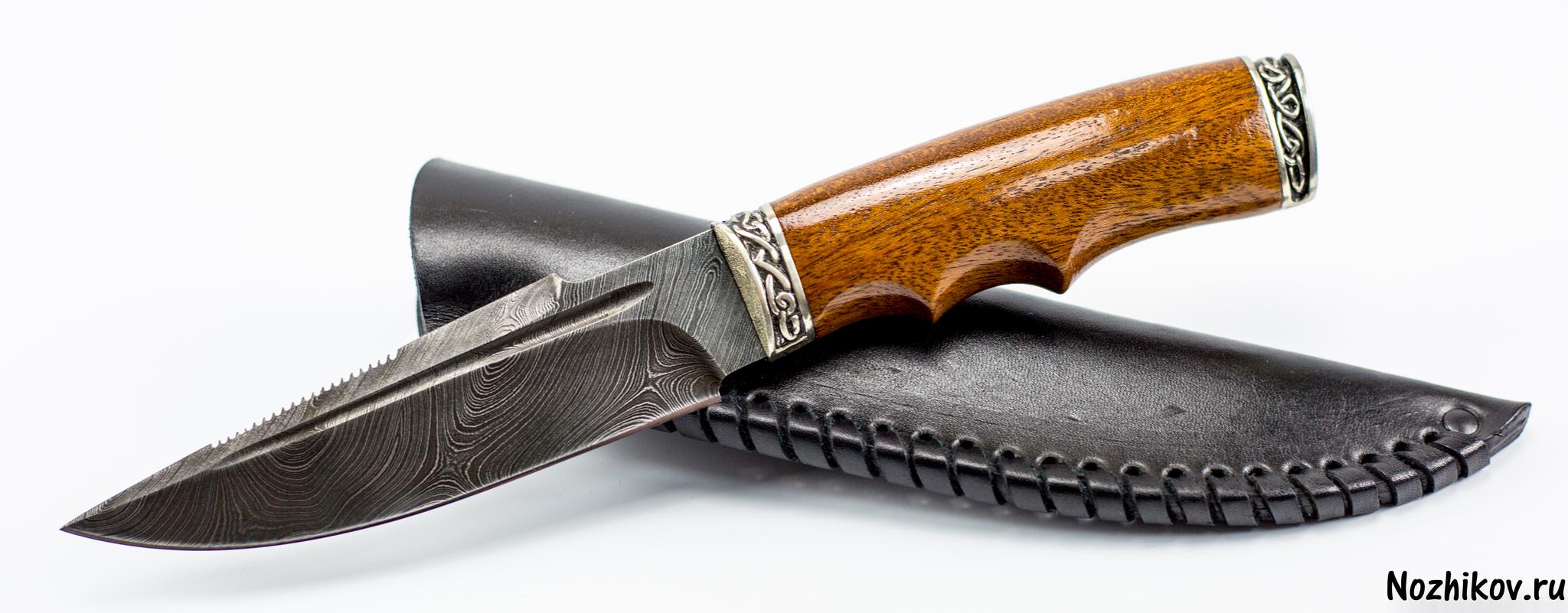 Фото 21 - Авторский Нож из Дамаска №8, Кизляр от Noname