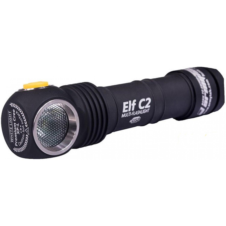 Мультифонарь светодиодный Armytek Elf C2 Micro-USB+18650, 980 лм, теплый свет