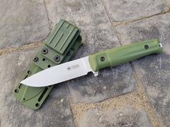 Тактический нож Sturm AUS-8 S BS SW олива, Кизляр
