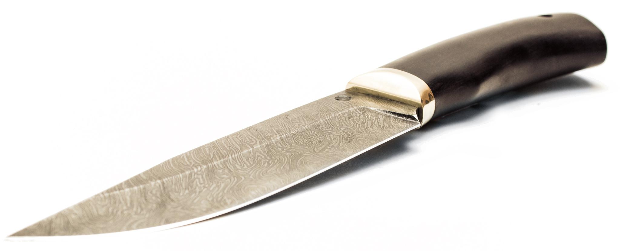Фото 6 - нож Охотник из дамаска от АТАКА