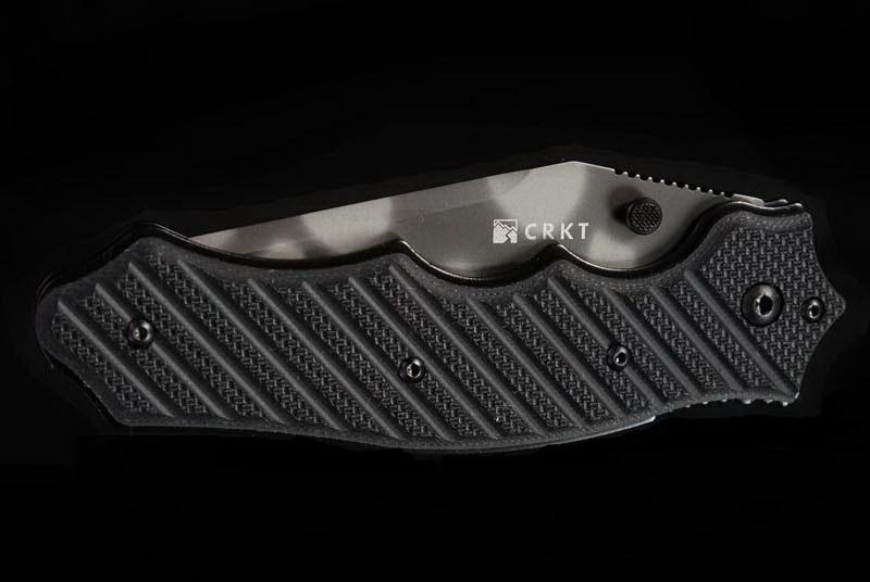Фото 7 - Складной нож CRKT 1030TS Triumph, сталь AUS-8 Tiger Stripe, рукоять стеклотекстолит G10