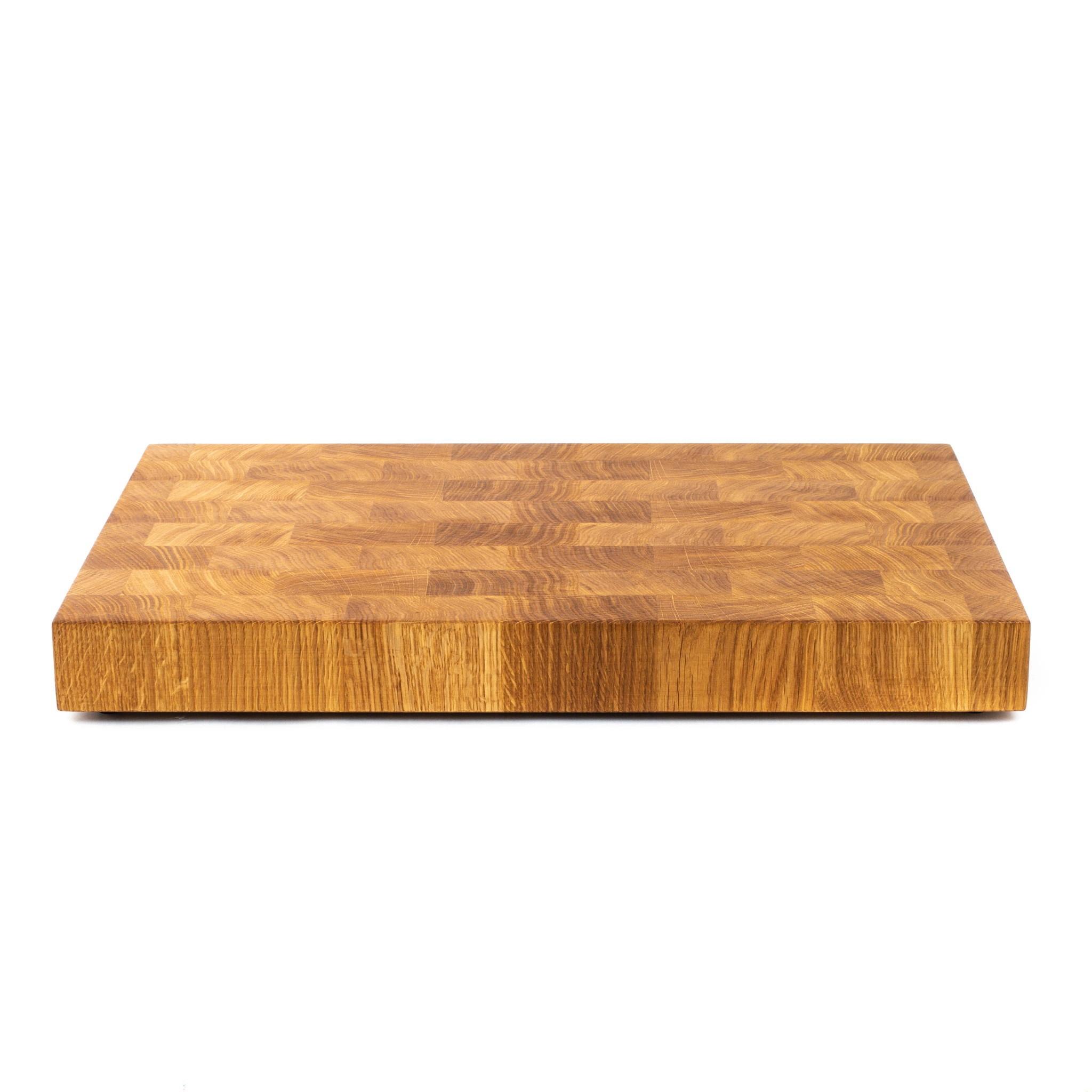 Доска разделочная торцевая, дуб, 32х50х5 см