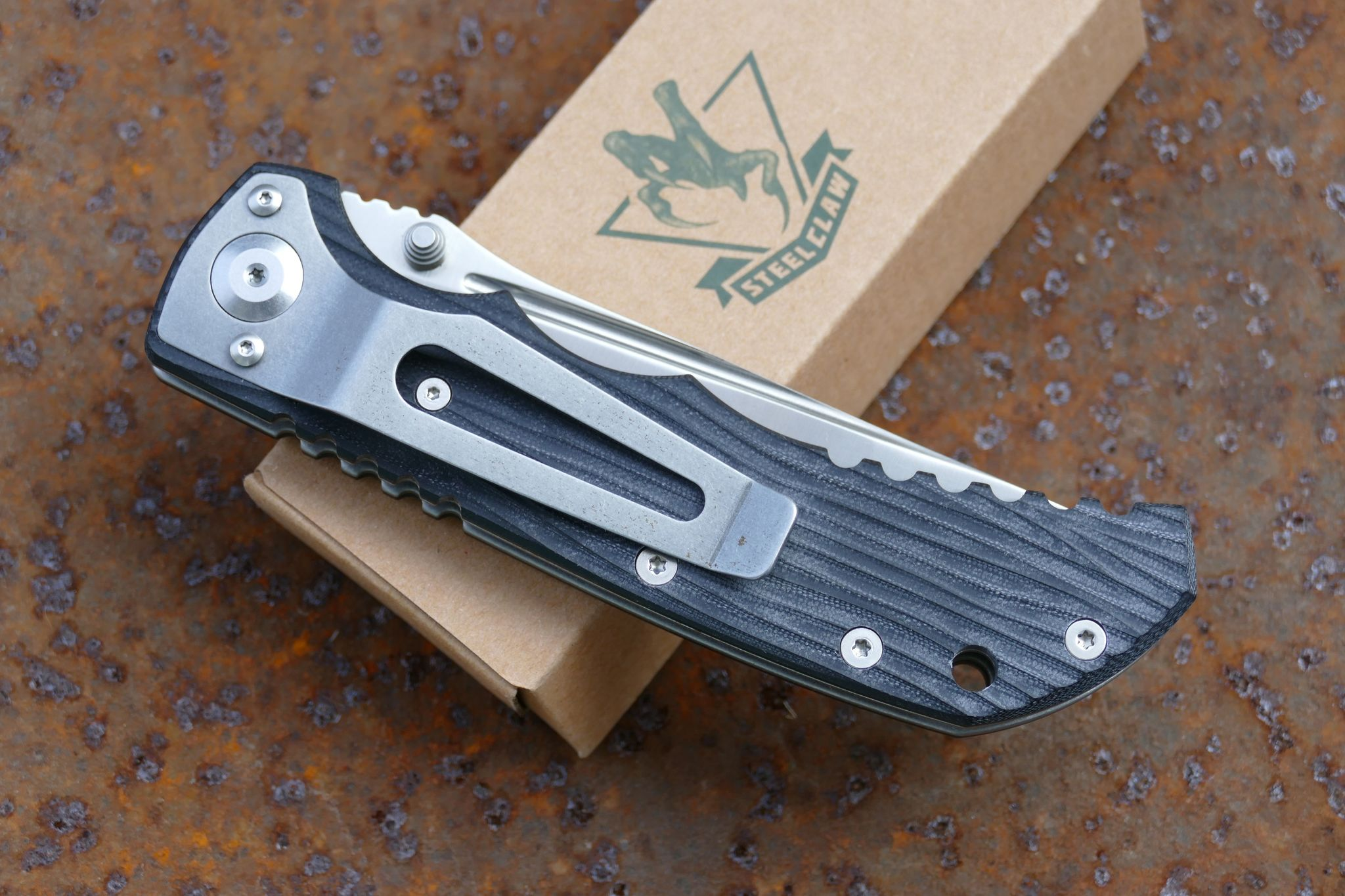 Фото 9 - Складной нож Рейнджер T6 от Steelclaw