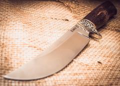 Нож Лесник, карельская береза, сталь ELMAX, фото 2