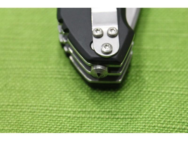 Фото 9 - Многофункциональный складной нож с выкидным стропорезом Extrema Ratio Police III, сталь Bhler N690, рукоять алюминий