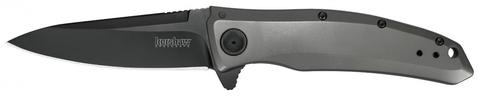 Складной полуавтоматический нож Kershaw Grid K2200, сталь 8Cr13MoV, рукоять нержавеющая сталь. Вид 2
