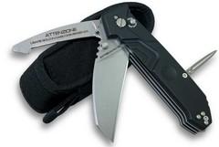 Нож складной с выкидным стропорезом Police III