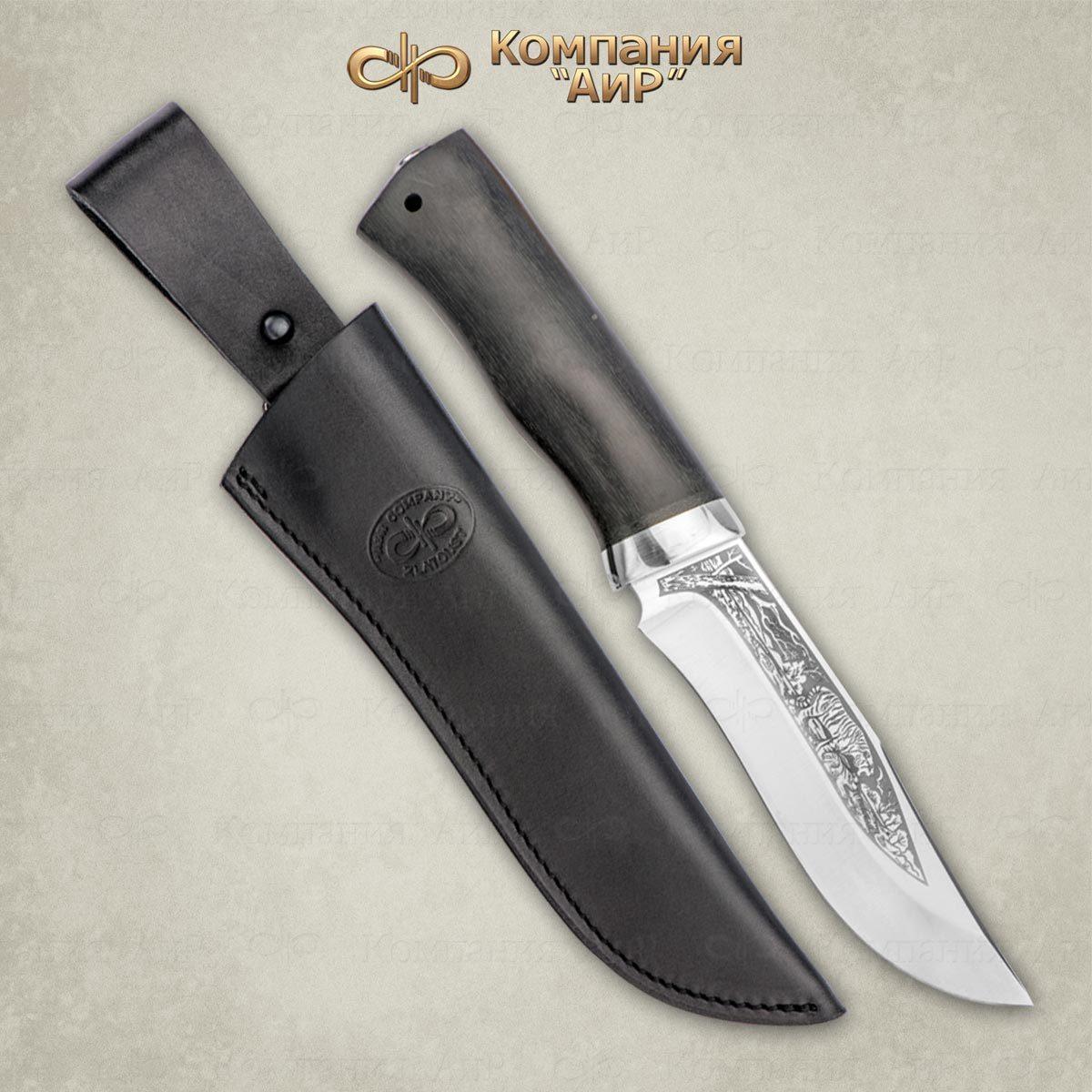 Нож разделочный АиР Клычок-3, сталь 110х18 М-ШД, рукоять граб