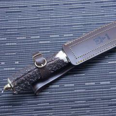 Нож с фиксированным клинком Muela Sarrio, сталь X50CrMoV15, рукоять олений рог, фото 3