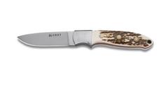 Нож с фиксированным клинком CRKT Brow Tine, сталь 9Cr18MoV, рукоять Резной олений рог, фото 2
