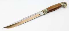 Нож Пластунский Казачий, сталь 95х18, рукоять орех, фото 2