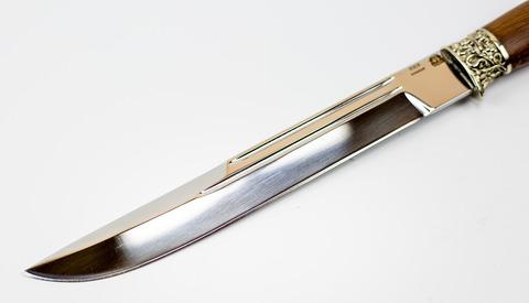 Нож Пластунский Казачий, сталь 95х18, рукоять орех. Вид 4
