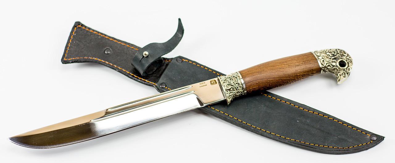Фото 14 - Нож Пластунский Казачий, сталь 95х18, рукоять орех от Мастерская Сковородихина
