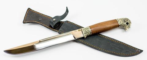 Нож Пластунский Казачий, сталь 95х18, рукоять орех. Вид 5