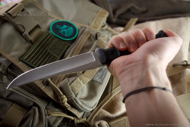 Фото 8 - Тактический нож Croc AUS-8 S, Кизляр от Kizlyar Supreme