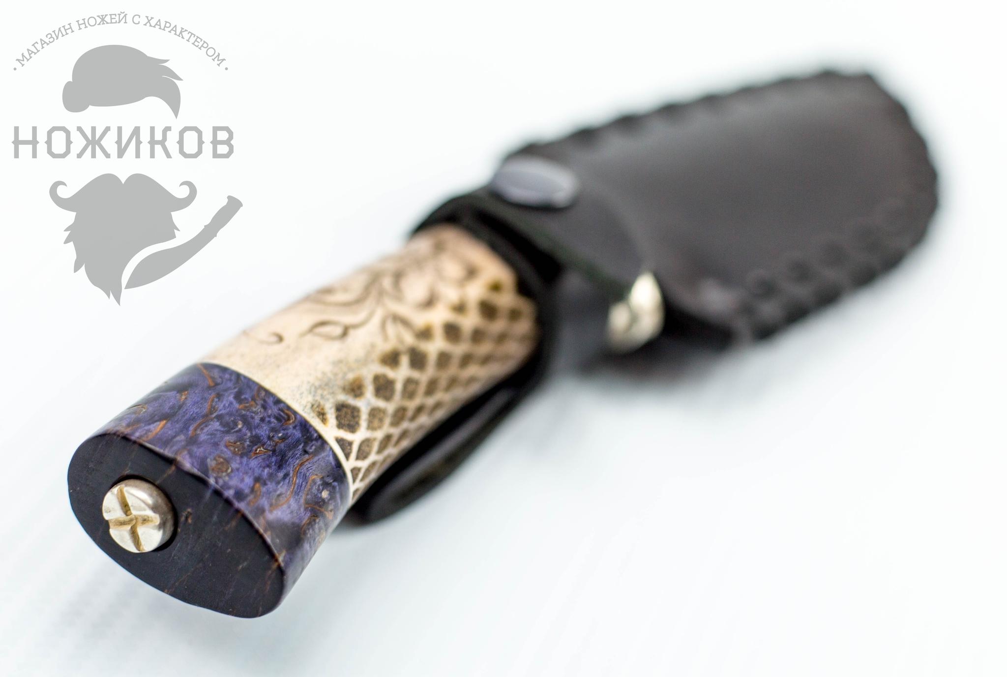 Фото 11 - Авторский Нож из Дамаска №83, Кизляр от Noname