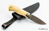 Нож МТ-61, сталь ХВ5, карельская береза - Nozhikov.ru