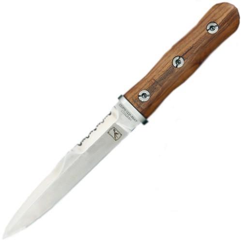 Фото 4 - Нож с фиксированным клинком Extrema Ratio 39-09 Сombat Compact Special Edition (Single Edge), сталь Bhler N690, рукоять дерево