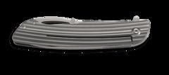 Складной нож CRKT Swindle™, сталь 12C27 Sandvik, рукоять нержавеющая сталь, фото 4