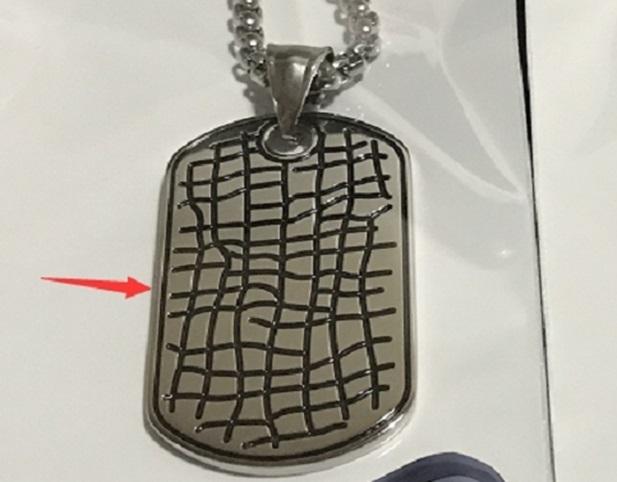 Подвеска ZIPPO, серебристая, в форме военного жетона, с цепочкой 60 см, нержавеющая сталь, 2,3x4,1x0,2 см подвеска винтажная rto гномы с цепочкой