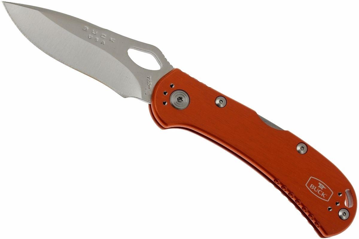 Фото 3 - Нож складной 722 Spitfire™ - BUCK 0722ORS1, сталь 420HC, рукоять алюминий, оранжевый