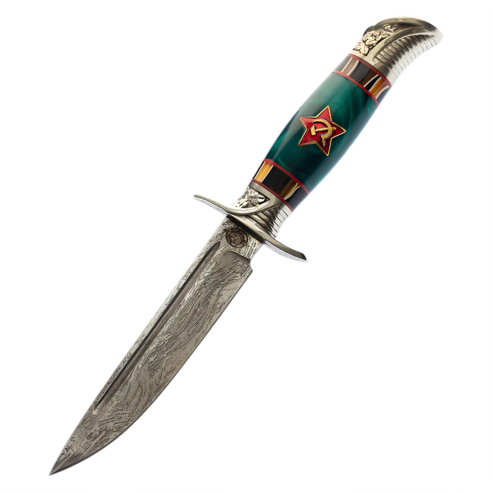 Нож Финка НКВД со звездой, сталь K340, акрил