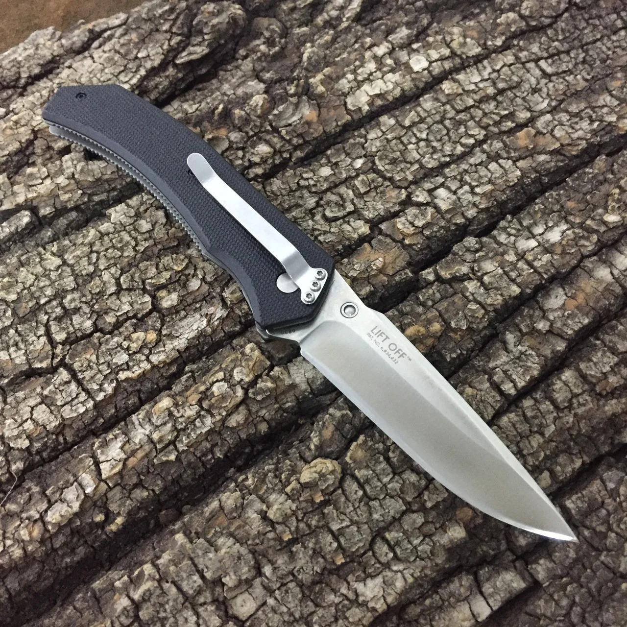 Фото 11 - Полуавтоматический складной нож Lift Off, CRKT 6830, сталь AUS-8, рукоять термопластик Zytel®/сталь