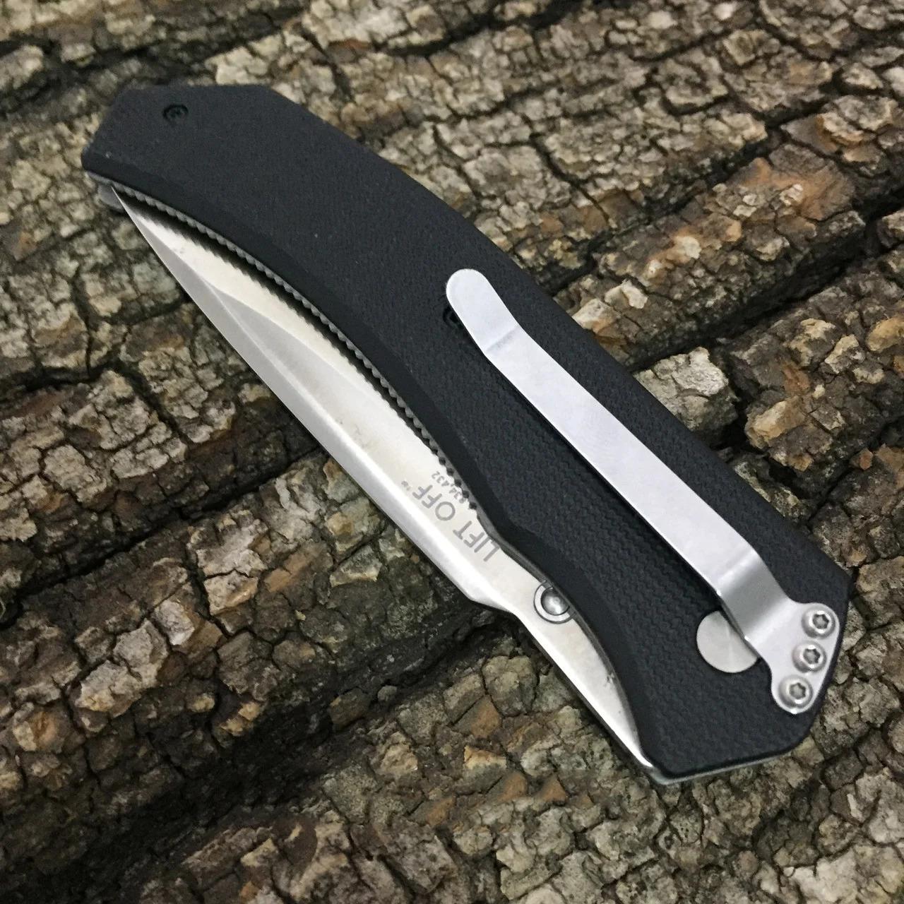 Фото 15 - Полуавтоматический складной нож Lift Off, CRKT 6830, сталь AUS-8, рукоять термопластик Zytel®/сталь