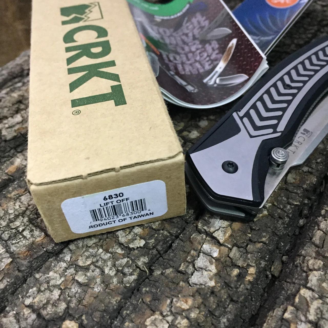 Фото 12 - Полуавтоматический складной нож Lift Off, CRKT 6830, сталь AUS-8, рукоять термопластик Zytel®/сталь