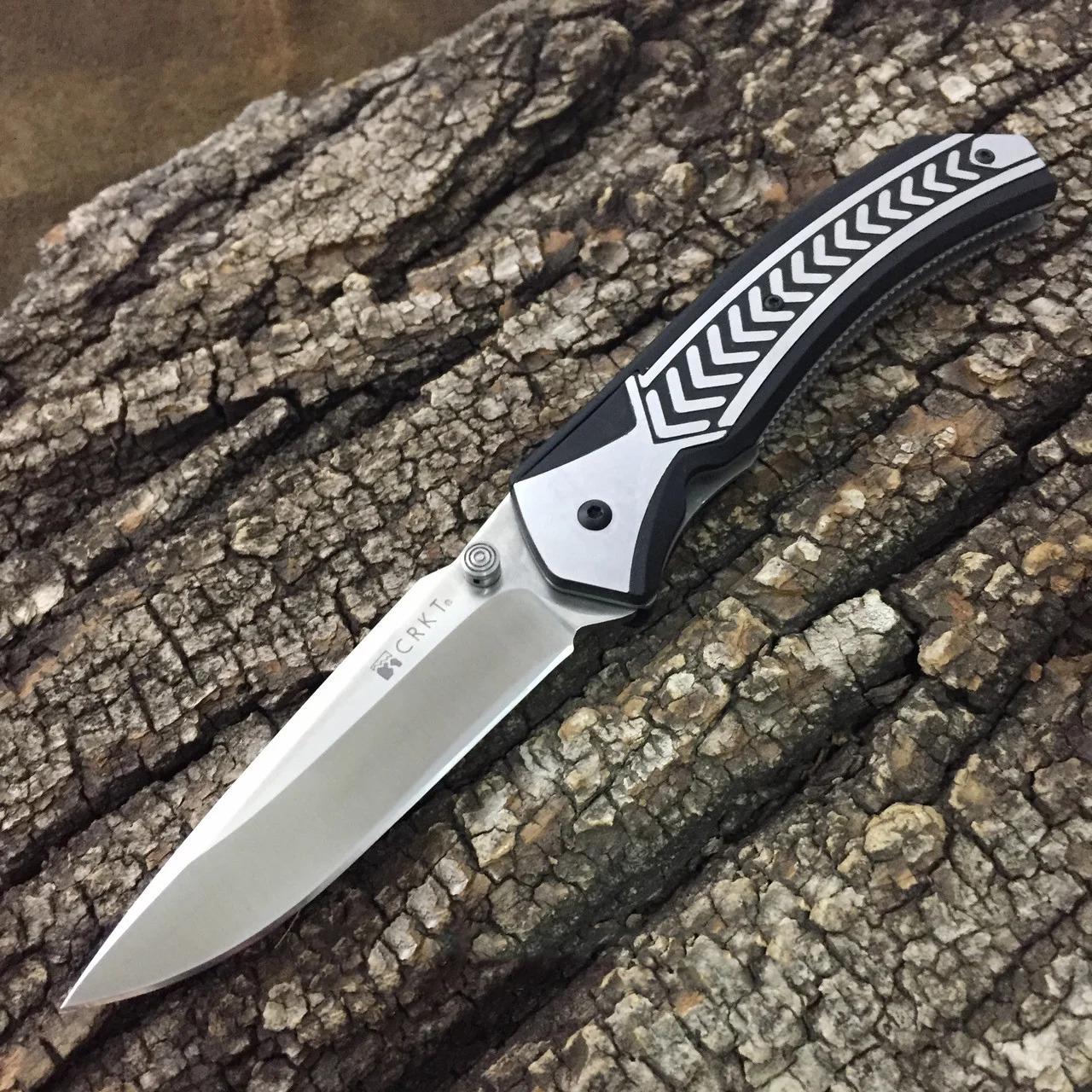 Фото 16 - Полуавтоматический складной нож Lift Off, CRKT 6830, сталь AUS-8, рукоять термопластик Zytel®/сталь