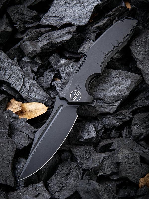 Складной нож WE Knife Chimera Black, S35VN