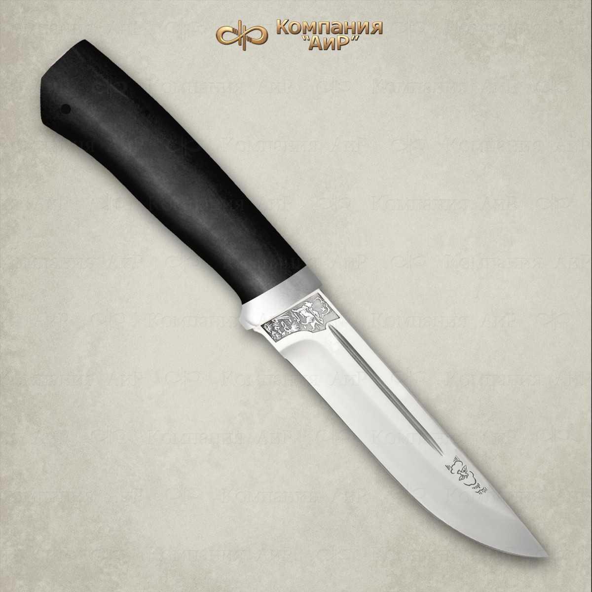 Нож Бекас, сталь M390, граб, АиР