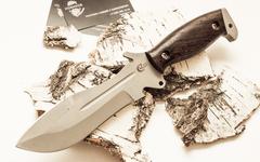 Нож для выживания «Кобра» из нержавеющей стали 65х13
