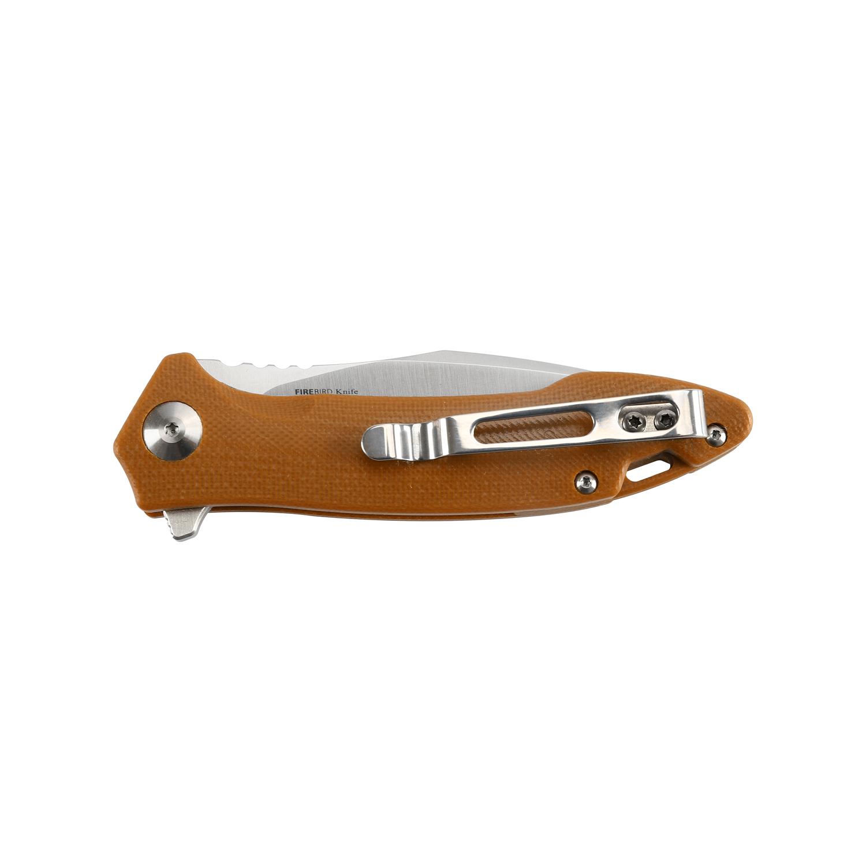 Фото 4 - Складной Нож Firebird FH51-BR, коричневый от Ganzo