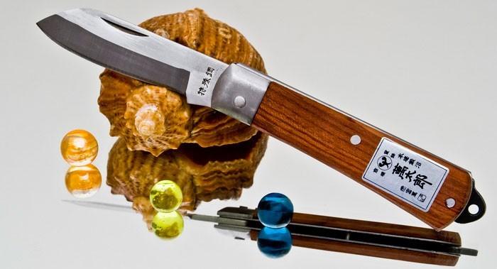 Складной нож TopMan Takagi Ranbo, дерево