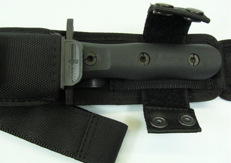 Фото 6 - Нож с фиксированным клинком 39-09 C.O.F.S. Operativo Black (Double Edge), сталь Bhler N690, рукоять пластик от Extrema Ratio
