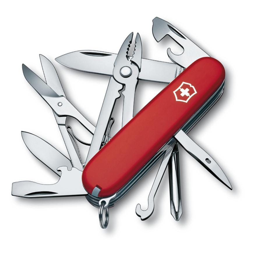 Нож перочинный Victorinox Deluxe Tinker 1.4723 91мм 17 функций красный