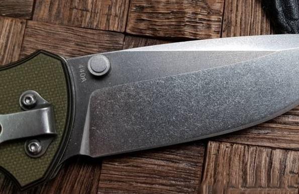 Фото 4 - Нож складной Boker Magnum Three Dimensions, сталь 440A 2-Tone Stonewash Plain, рукоять стеклотекстолит G10, 01MB717