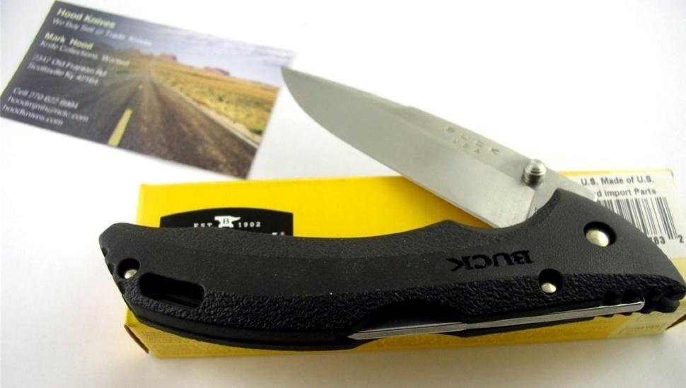 Фото 5 - Нож складной 286 Bantam® BHW - BUCK 0286BKS, сталь 420HC, рукоять GRN (термопластик)