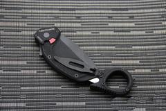 Складной нож Extrema Ratio Nightmare Black, сталь Böhler N690, рукоять черный антикородал (алюминиевый сплав), фото 2