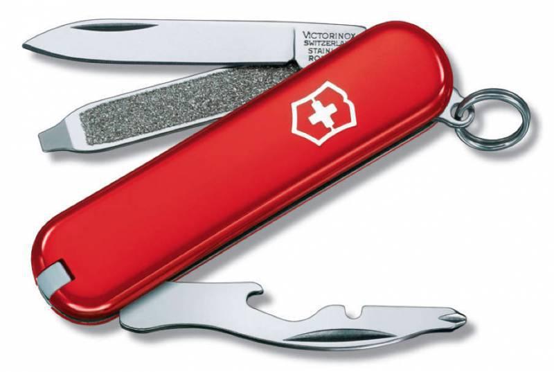 Фото - Нож перочинный Victorinox Rally 0.6163 58мм 9 функций красный брелок многофункциональный hi tech dt 377