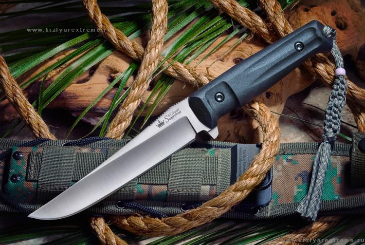 Фото 17 - Тактический нож Croc D2 Satin+SW, Кизляр от Kizlyar Supreme