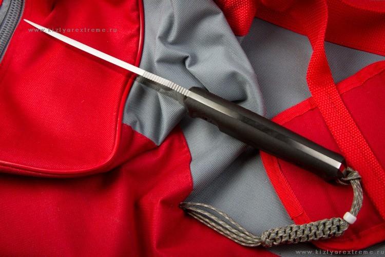 Фото 18 - Тактический нож Croc D2 Satin+SW, Кизляр от Kizlyar Supreme