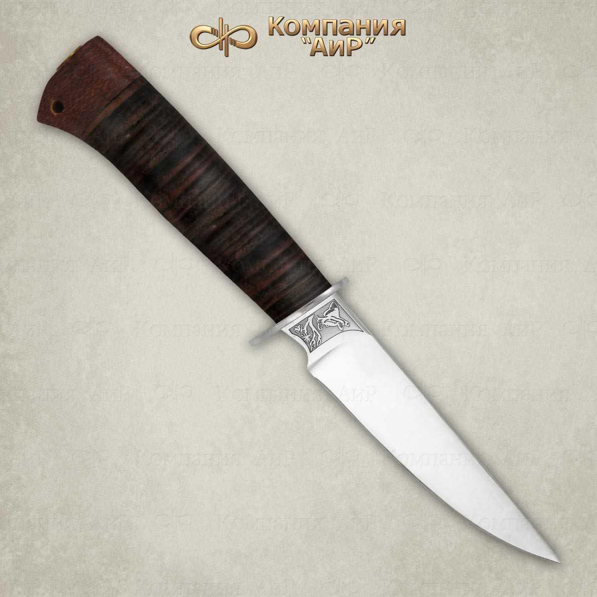Нож Тетерев, АиР, кожа, 100х13м