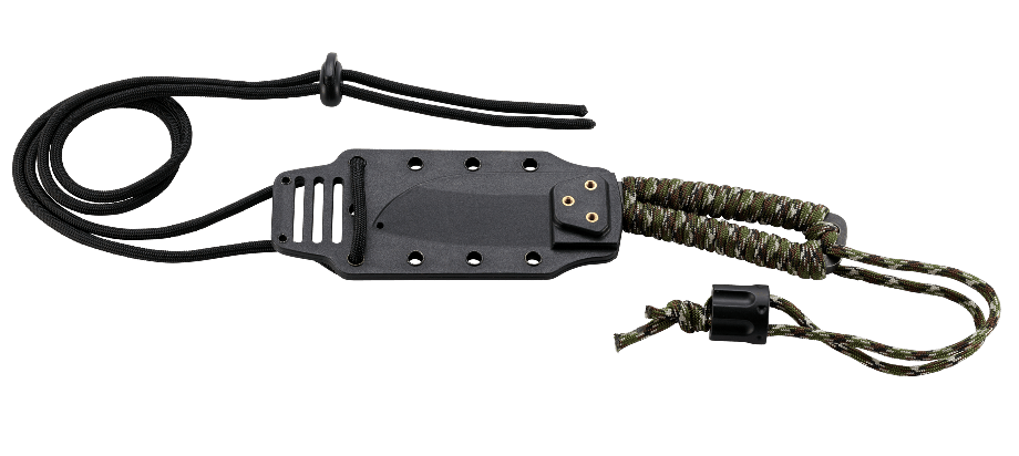 Фото 11 - Нож с фиксированным клинком CRKT Cordite™ Compact, сталь 8Cr14MoV, рукоять паракорд