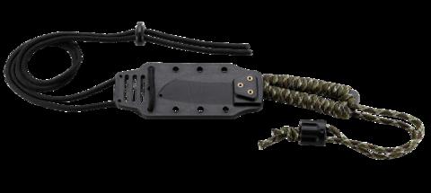 Нож с фиксированным клинком CRKT Cordite™ Compact, сталь 8Cr14MoV, рукоять паракорд. Вид 5